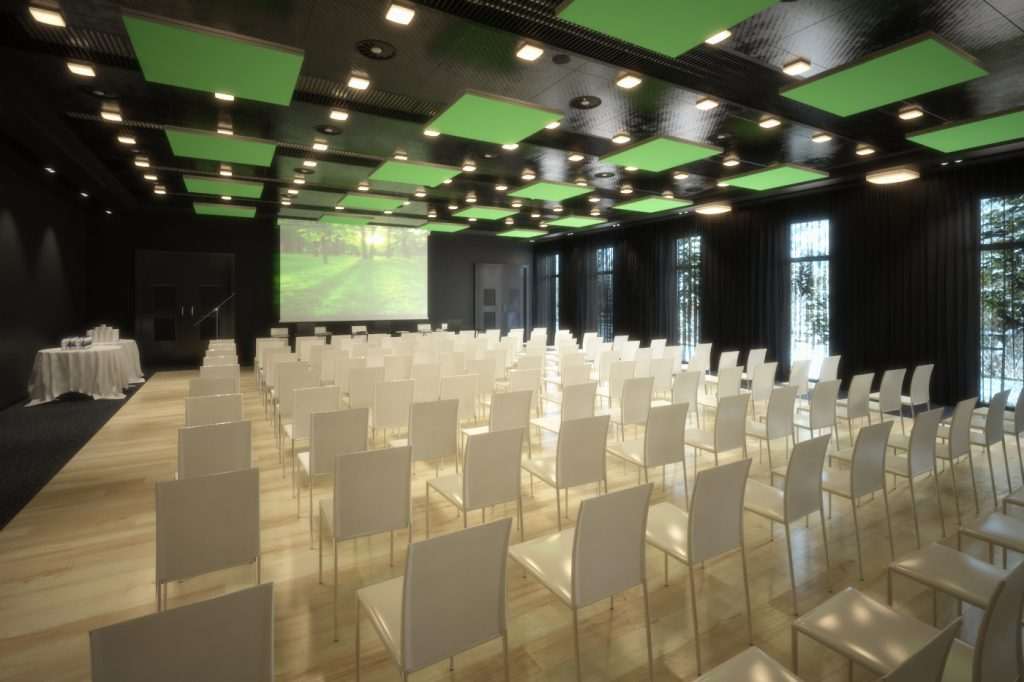 HOTELS, CONFERENCE ROOMS, SHOWROOMS